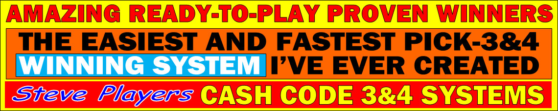 Steve Player - Cash Code Systems