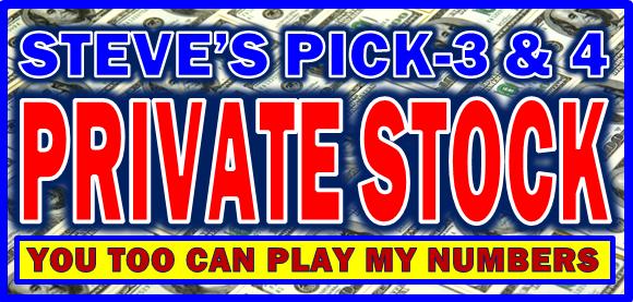 Steve Player - Pick-3 & 4 Private Stock