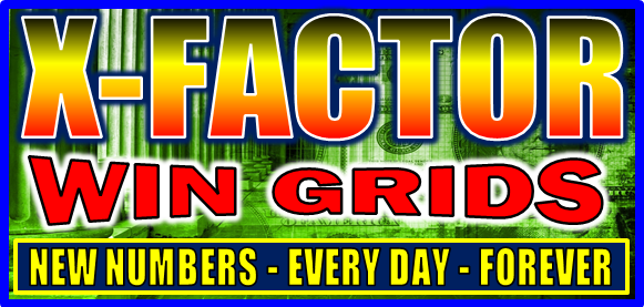 Pick-3 & Pick-4 X-Factor Win Grid Systems