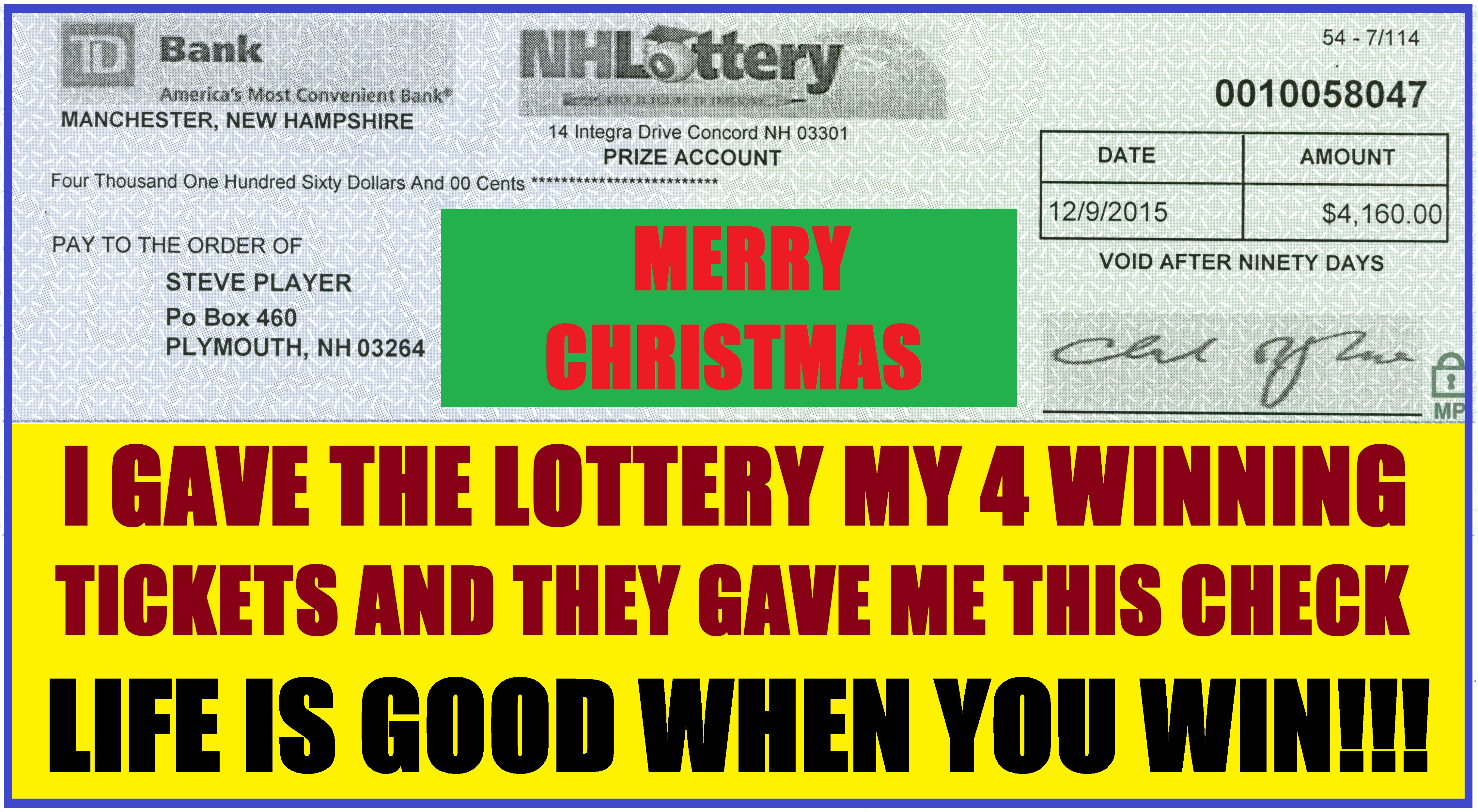 lottery winning systems free