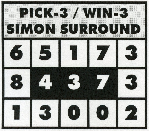 Steve Player - Pick-3 & 4 Simon Surround System